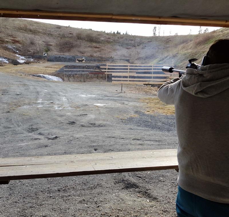 Kom onsdag for å skyte løpende elg. Kjempegod trening til jakta